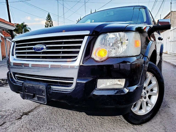 Ford Explorer 4.6 Xlt V8 3er Asiento Sync 4x2 Mt 2009