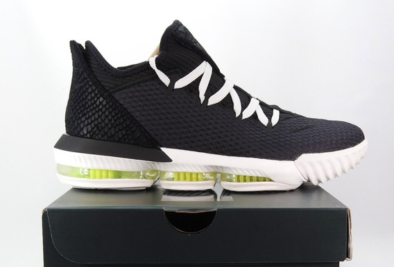 Tenis Lebron 16 Low Black Originales
