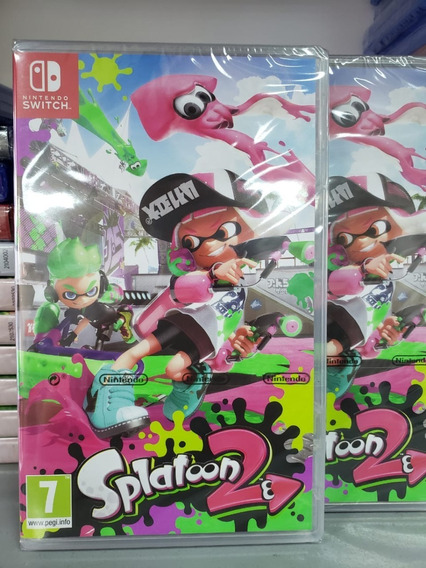 Splatoon 2 Nintendo Switch Mídia Física Lacrado Original