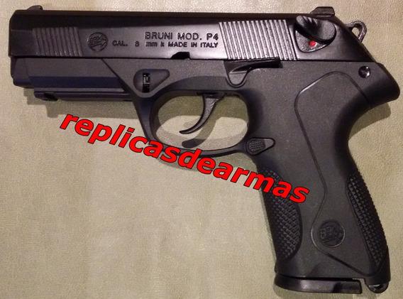 Pistola De Fogueo Beretta Px4 Storm Pavon 9 Mm