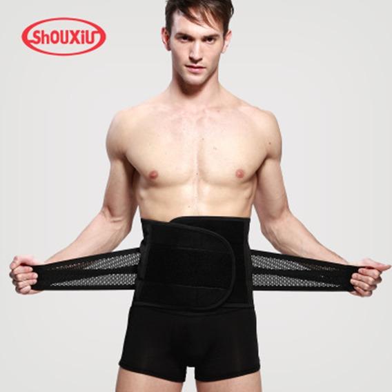 Faja Para Gym Foam Belt Hombre Y Mujer Con Doble Compresión