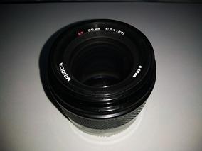 Lente Minolta 50mm/1.4 Para Câmera Sony Alpha A-mount