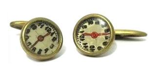 Antiguos Gemelos Reloj Estilo Intaglio (w)
