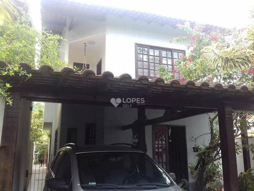 Imagem 1 de 15 de Casa Duplex, Boa Planta, Cômodos Amplos, Quintal, 03 Qts./01 Suíte, 152 M², R$ 450.000,00 - Engenho Do Mato - Niterói/rj - Ca12015
