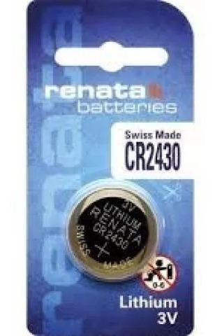 Bateria Cr2430 Lithium 3v - Renata - Co.542430 - 1 Unidade