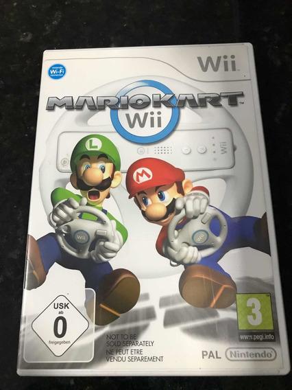 Jogo Nintendo Wii Mário Kart Europeu Original