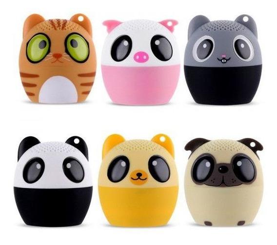Caixa De Som Bluetooth Mini Bichinhos Tws Animais 3w Mini Pet Sem Fio