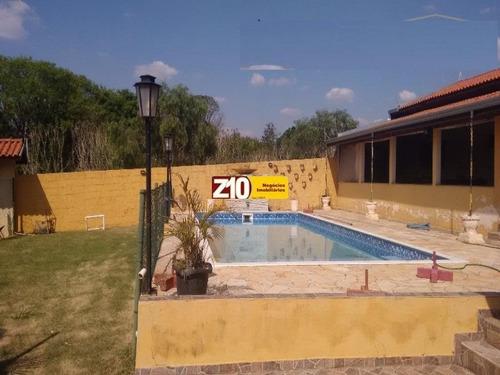 Ch01739 - Chácara Viracopos - At 1.024m², Ac 200m² De Construção, 280 M² De Área Útil, Água Encanada, Esgoto, Luz E Poço Caipira Com Bomba - Z10 Im. - Ch01739 - 33887173