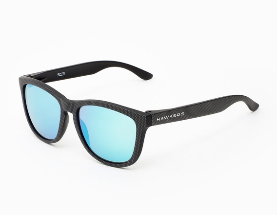 Lentes Hawkers Carbono Spotted Blue Chrome One