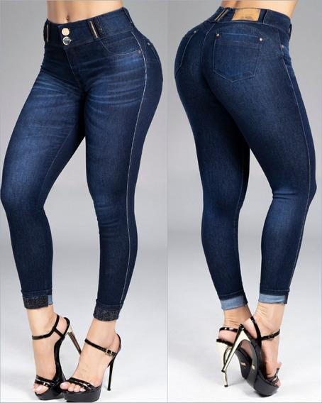 Calça Cropped Pit Bull Jeans, Empina Bumbum 33687 + Brinde