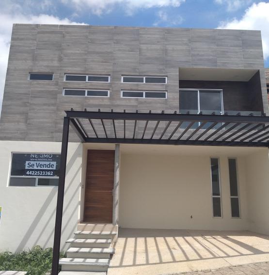 Casa En Venta En Fraccionamiento Punta Esmeralda, Corregidora En Querétaro