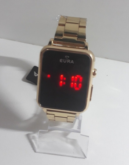 Relógios Digital Quadrado Unissex C/caixa Dia Dos Namorados