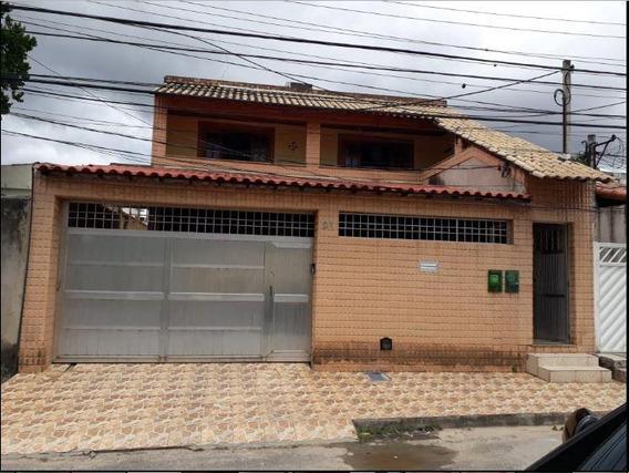 Casa Em Bangu, Rio De Janeiro/rj De 327m² 7 Quartos À Venda Por R$ 460.000,00 - Ca187382