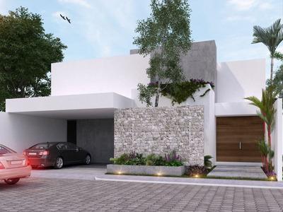 Residencia De 4 Recámaras En Barlovento, Modelo B, Temozón Norte, Mérida Norte