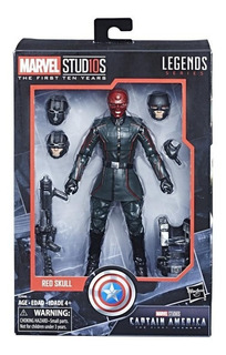 Marvel Legends Red Skull Marvel Studios The First Ten Year