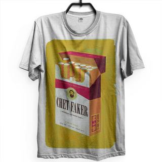 Camiseta Chet Faker Eletronica Alternativo Pop Indie