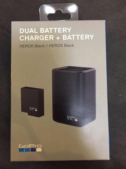 Carregador Dual + Bateria Gopro Original Hero 6 Blk Hero 5