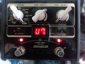 Pedaleira Guitarra Vox Stomplab 1g Pedaleira Efeitos Usado
