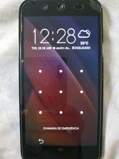 Smartphone Asus Live G500tg Preto/azul - Excelente Estado