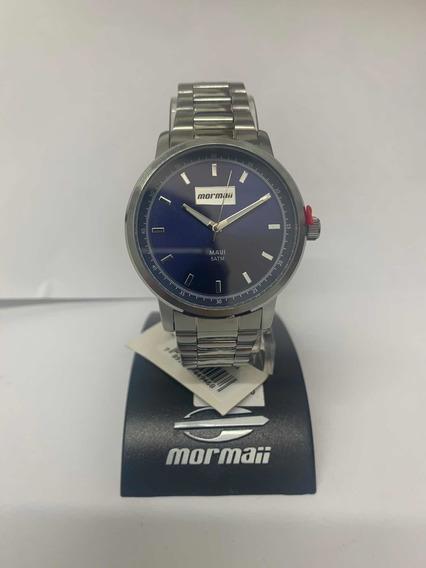 Relógio Mormaii Prata Masculino Mo2036ht/3a