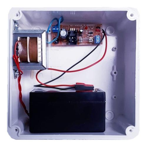Imagen 1 de 1 de Cargador Auxiliar Baterias 12v 1,3ah Flote Corte Automatico