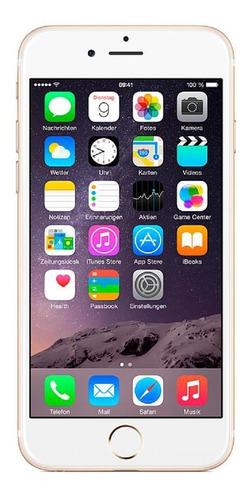 Imagem 1 de 4 de iPhone 6 64gb Usado Seminovo Dourado Celular Bom