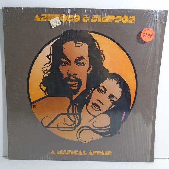 Ashford E Simpson 1980 A Musical Affair Lp Com Encarte