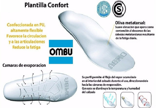 Plantilla Ergonomica Confort Ombu