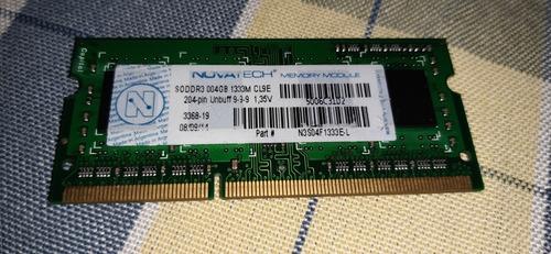 Memoria Ram 4g 1333mhz