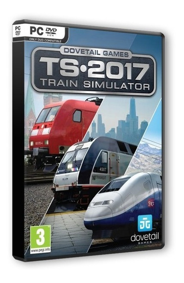 Train Simulator 2017 Pioneers Edition Pc Dvd - Frete 8 Reais