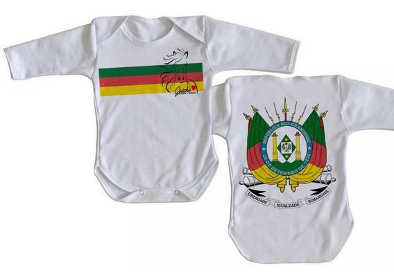 Body Bebê Luxo Gaúcho Cavalo Crioulo Rio Grande Do Sul Rs