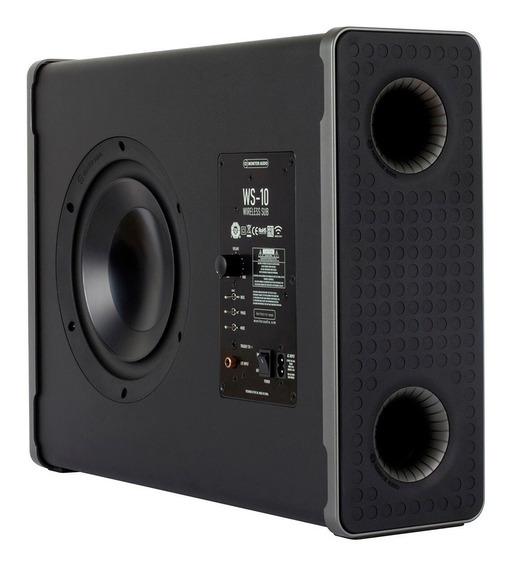 Monitor Audio Subwoofer Ws-10b Sem Fio (un)