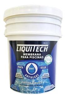 Pintura Pileta Liquitech 3en1 Pinta+sella+antialga 20l M M