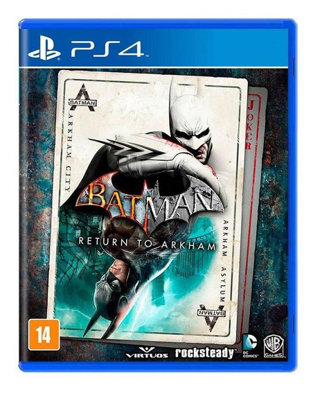 Batman Return To Arkham Ps4 Mídia Física Novo Lacrado