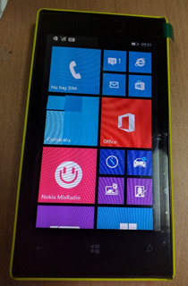 Celular Nokia Lumia 520 Amarillo Movistar