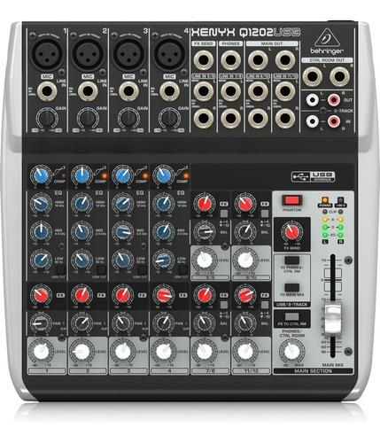 Imagen 1 de 3 de Mixer Consola Behringer Q1202usb  Interfaz Grabacion Xenyx