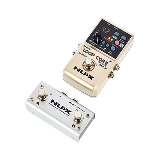 Nux Deluxe Loop Core Pedal + Footswitch - Oddity