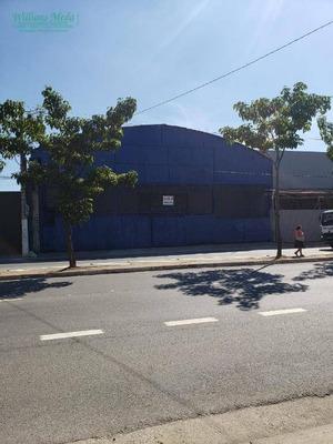 Galpão Para Alugar, 1200 M² Por R$ 15.000/mês - Cangaíba - São Paulo/sp - Ga0196