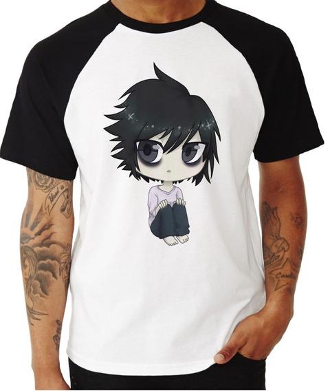 Camisa Camiseta Death Note Anime Ref 07