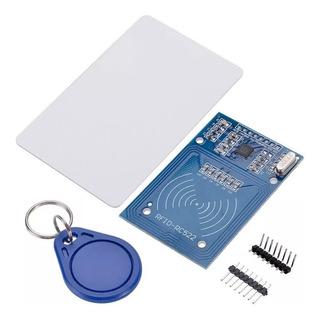 5 X Módulo Leitor Rfid Rc522 Cartão Chaveiro Prog Arduino