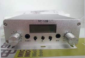 Transmissor Link Fm Automotivo Fm St-15b 15w