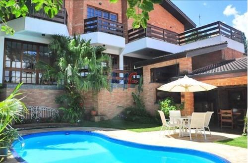 Imagem 1 de 12 de Ref 8925 - Lindissima Casa Assobradada Para Venda No Condominio  Morada Das Flores (aldeia Da Serra), 4 Dorms, 2 Suítse, 4 Vagas, 520 M - 8925