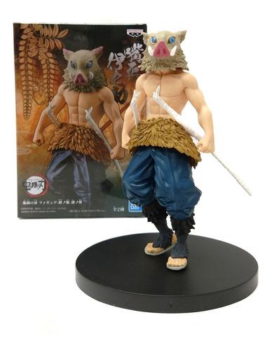 Demon Slayer Kimetsu No Jaiba Inosuke Hashibira Figura Caja