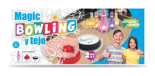 Juego Magic Bowling Y Tejo 2 Juegos En 1 Original Full