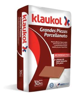 Pegamento Imper P/porcellanato Grandes Piezas 30 Kg Klaukol