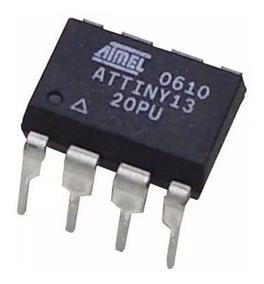 Microcontrolador Attiny13a