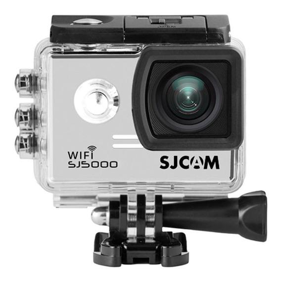 Câmera De Ação Full Hd Wifi Sjcam Sj5000 Original Prata