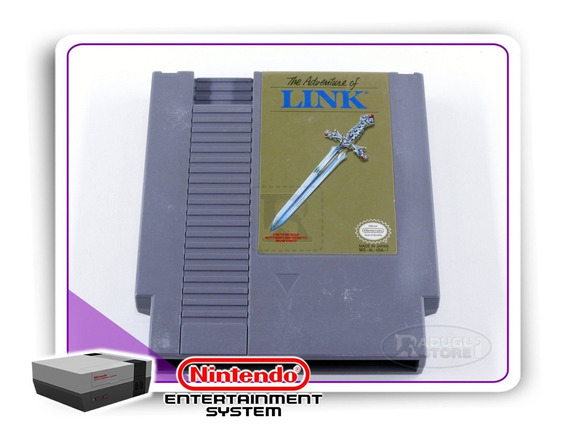 Zelda 2 The Adventure Of Link Original Nintendinho Nes