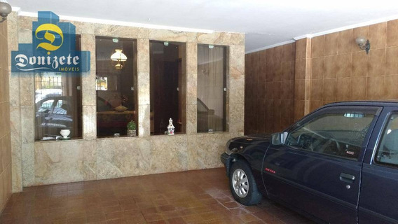 Sobrado Com 3 Dormitórios À Venda, 165 M² Por R$ 648.000,00 - Jardim - Santo André/sp - So1647