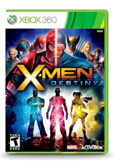 Jogo Xbox 360 X-men Destiny Mídia Física Original